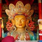 Buddha, Thiksey Gompa